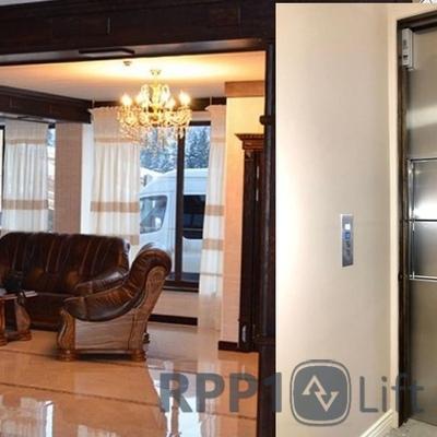 Ліфт для кухні у приватному будинку Буковель