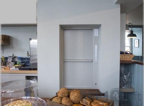 "Мікроліфт в кафе готеля ""Поляна"""